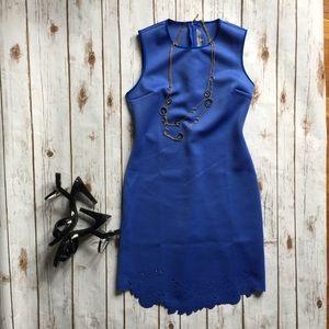 Gorgeous Scalloped Hem Bodycon Dress